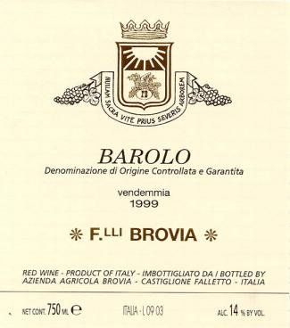 Brovia Barolo D.O.C.G