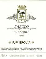 Brovia Barolo Villero  D.O.C.G.