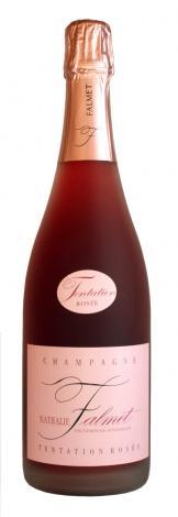 Nathalie Falmet Champagne Tentation Rosée