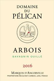 Pelican Arbois Savagnin Macération Pelliculaire