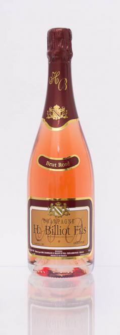 H. Billiot Champagne Brut Rosé - Dosage: 10g. NV