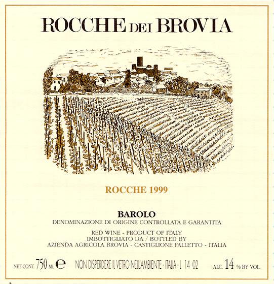 Brovia Barolo Roche di Castiglione D.O.C.G.